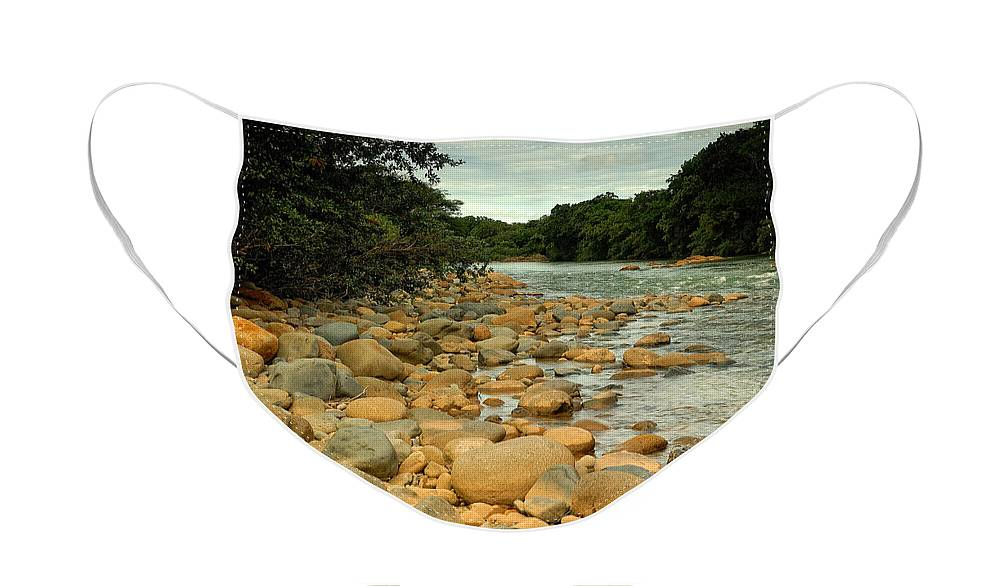 River Face Mask featuring the photograph Santa Maria River by Iris Greenwell