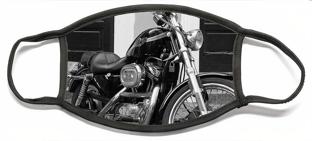 Motorcycle Face Mask featuring the photograph Screamin Eagle by Debbi Granruth