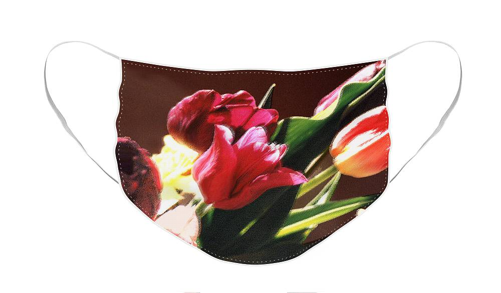 Floral Still Life Face Mask featuring the photograph Spring Bouquet by Steve Karol