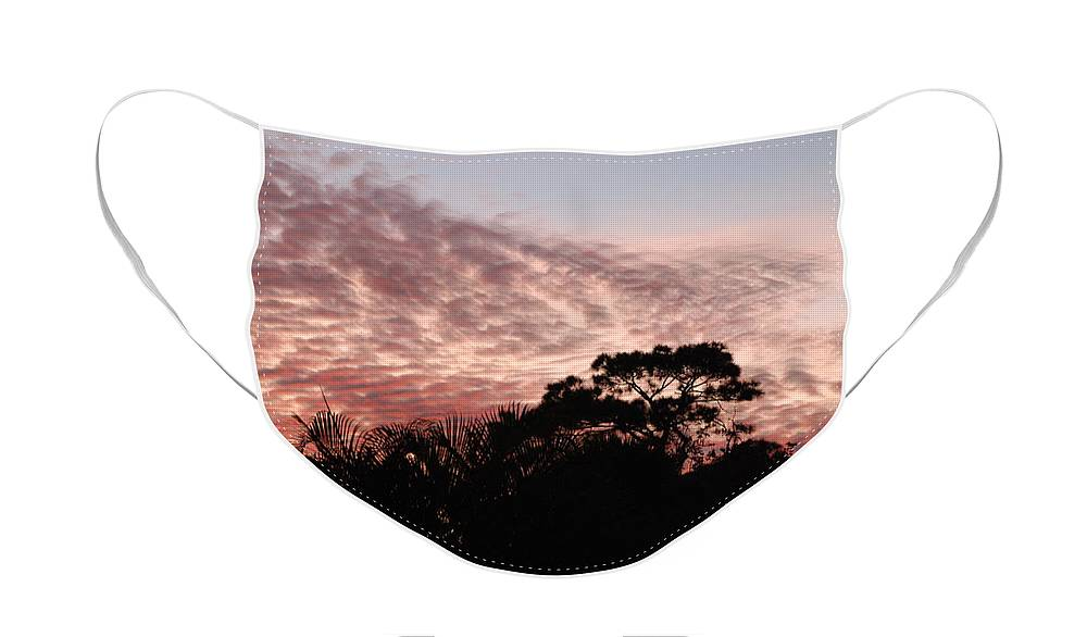 Sky Face Mask featuring the photograph Thanksgiving Sky by Rob Hans