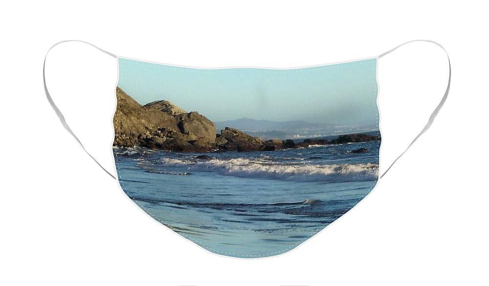 Beach Face Mask featuring the photograph The beach 2 by Elizabeth Klecker