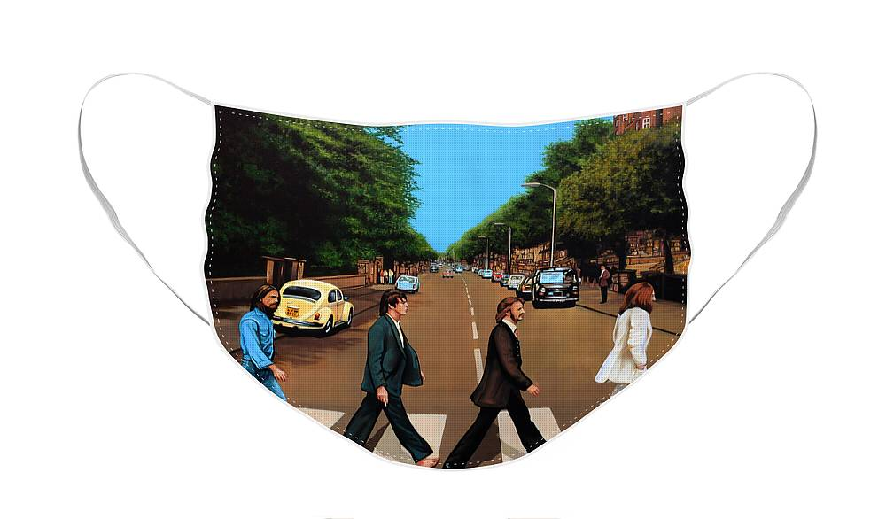 Rock And Roll The Beatles Face Masks