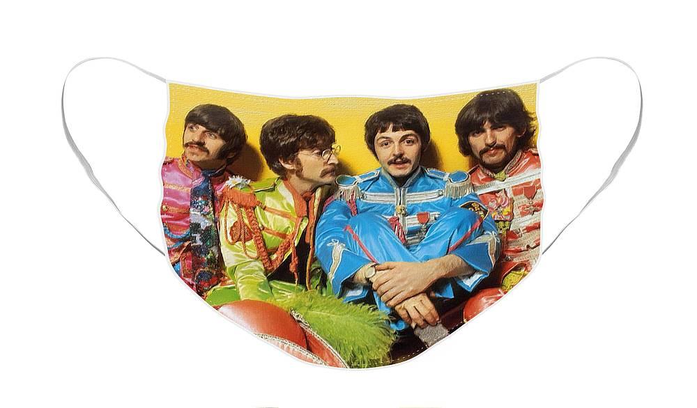 Rock N Roll George Harrison Face Masks