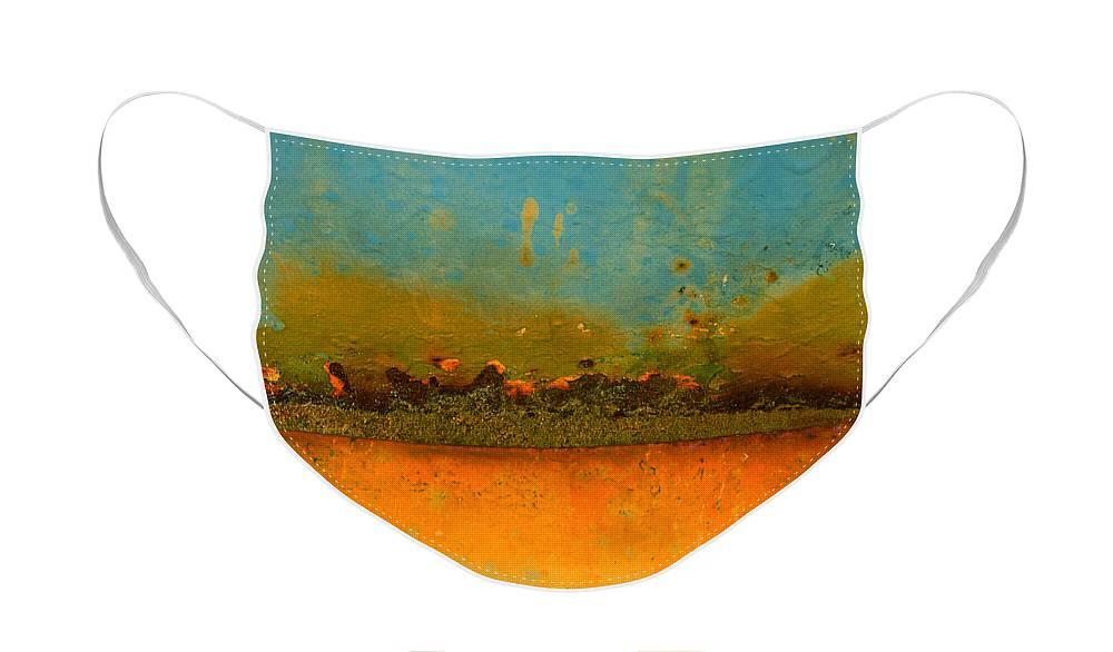 Urban Face Mask featuring the photograph The Horizon by Tara Turner