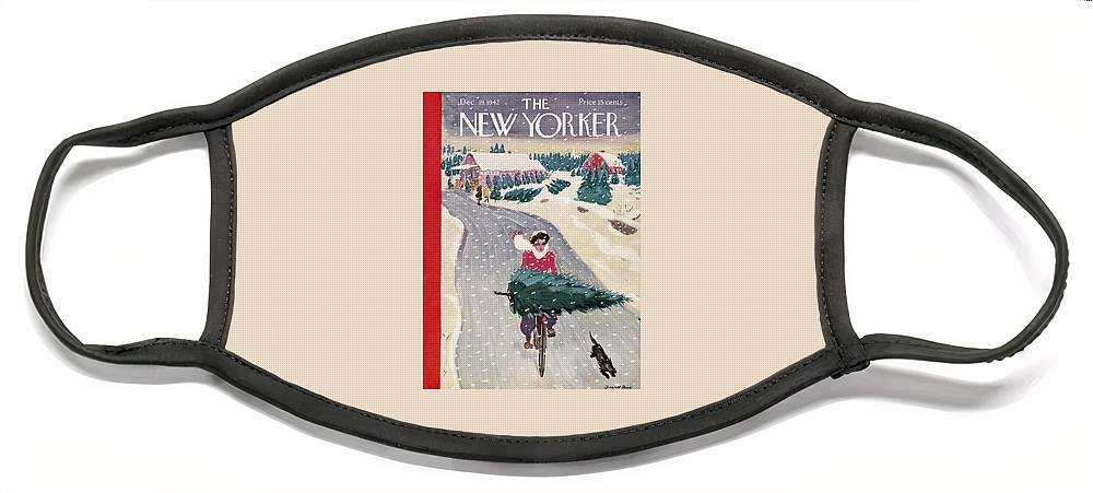 New Yorker December 19, 1942 Face Mask