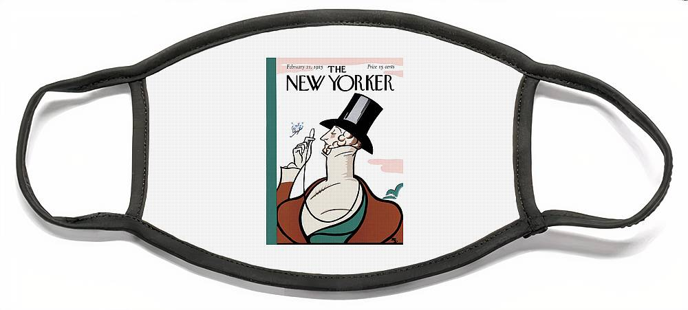 New Yorker February 21st, 1925 Face Mask