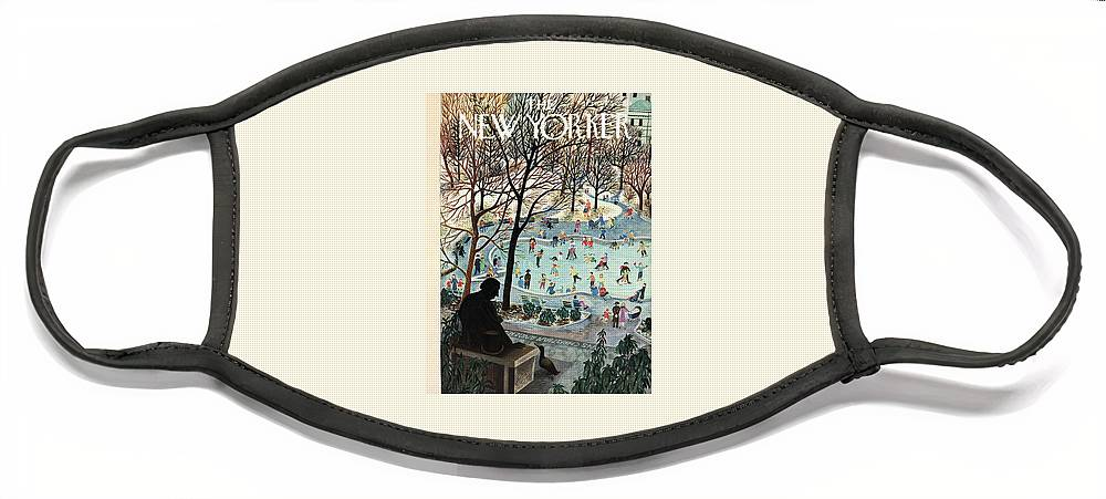 The New Yorker Cover - February 4th, 1961 Face Mask