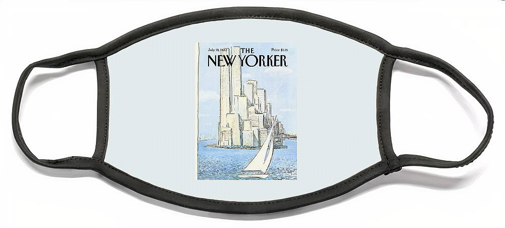 New Yorker July 19th, 1982 Face Mask