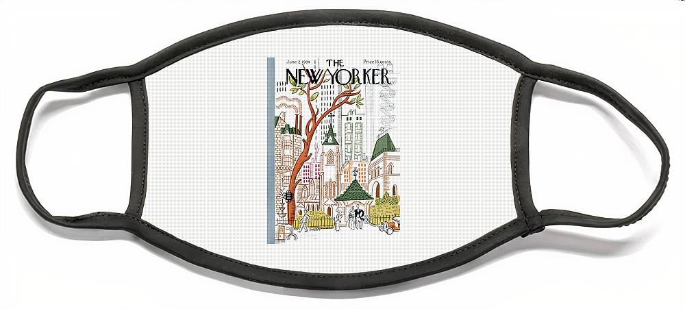 New Yorker June 2, 1934 Face Mask