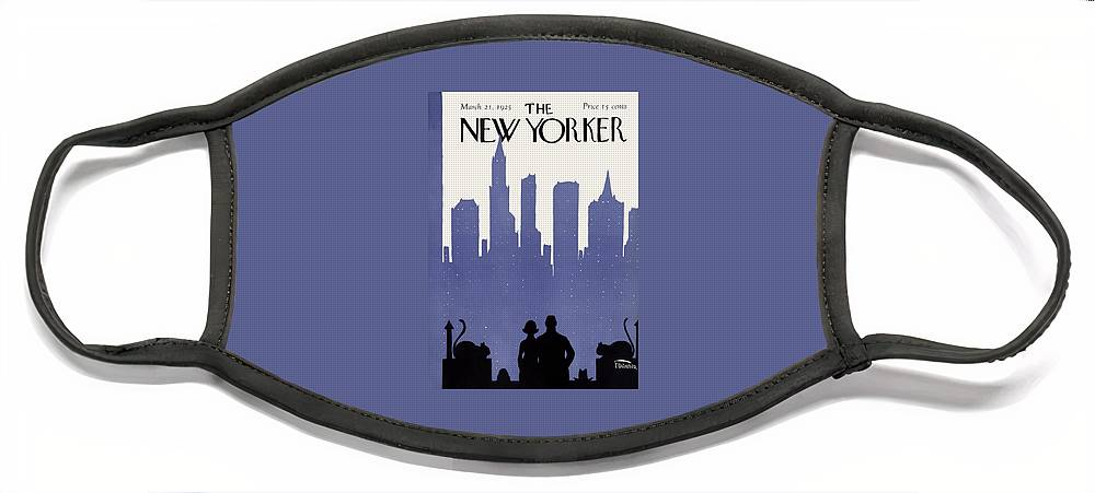 New Yorker March 21st, 1925 Face Mask