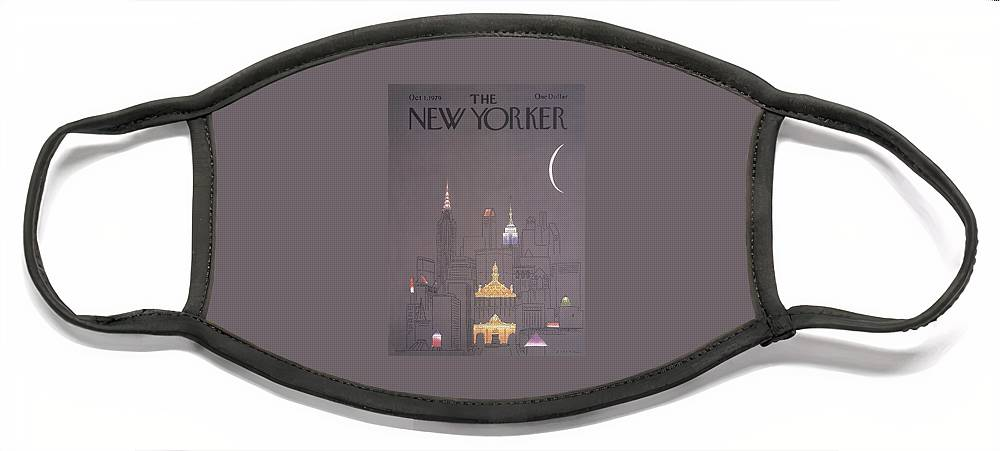 New Yorker October 1st, 1979 Face Mask