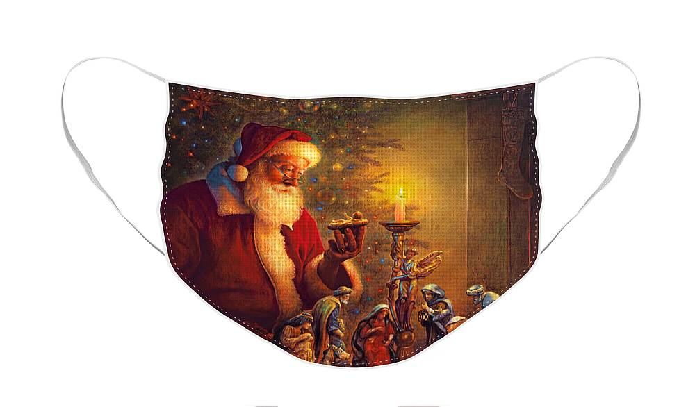 Santa Claus Face Masks
