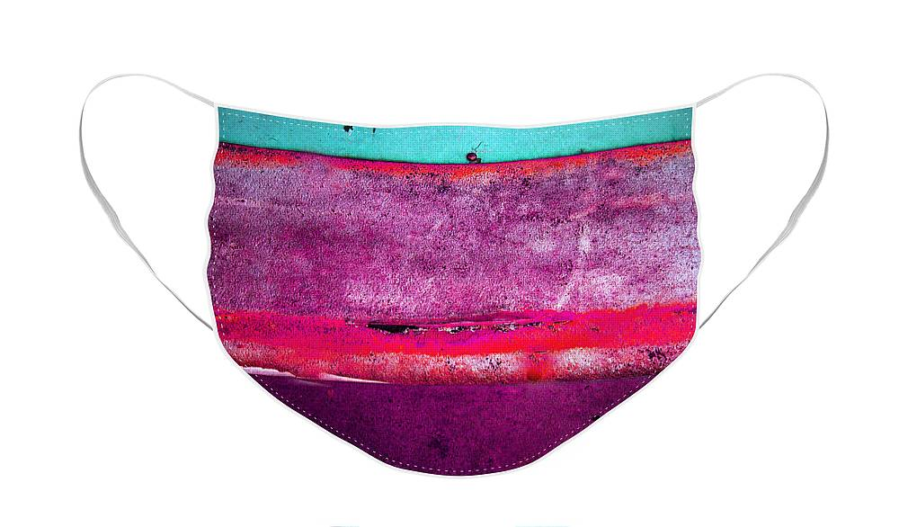 Colour Face Mask featuring the photograph The Stripes by Tara Turner