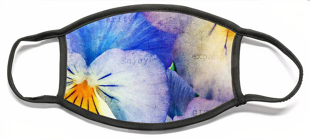 Agriculture Face Mask featuring the photograph Tones of Blue by Darren Fisher