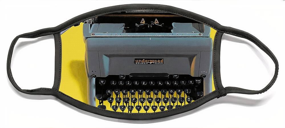Typewriter Face Masks