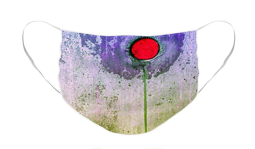 Urban Face Mask featuring the photograph Urban Flower by Tara Turner