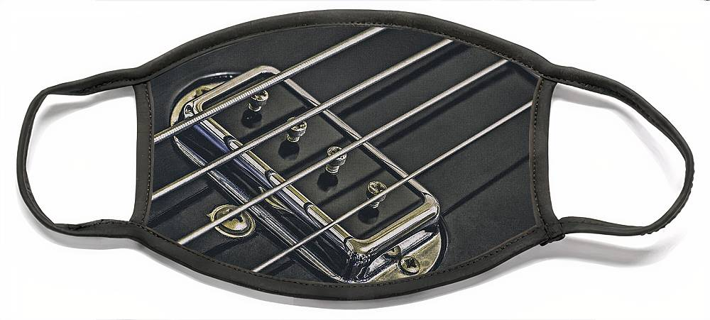 Scott Norris Photography Face Mask featuring the photograph Vintage Bass by Scott Norris