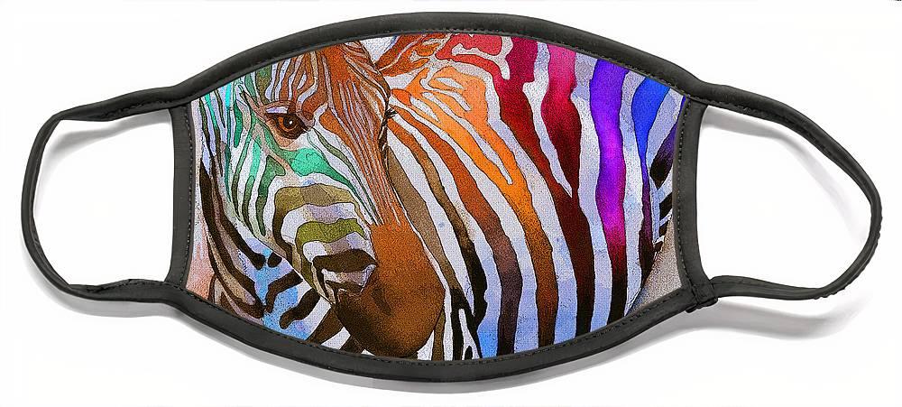Zebra Face Masks