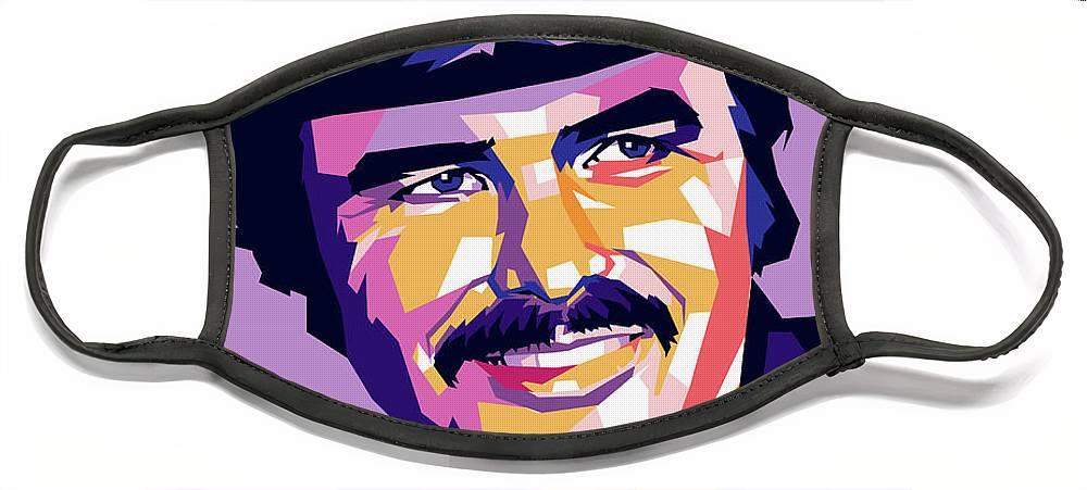 Burt Reynolds Face Masks
