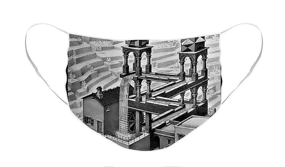 Maurits Cornelis Escher Face Mask featuring the photograph Escher 128 by Rob Hans