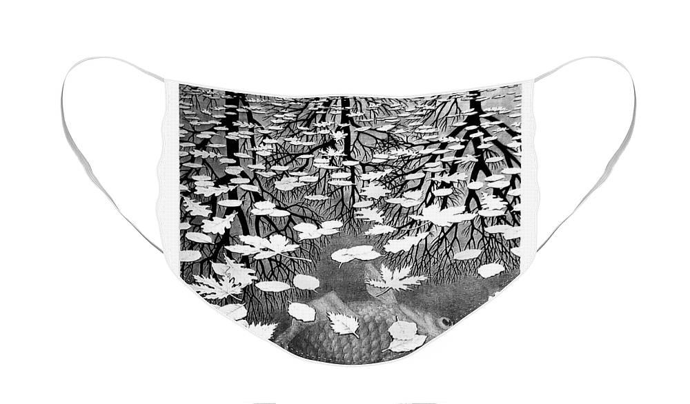 Maurits Cornelis Escher Face Mask featuring the photograph Escher 98 by Rob Hans