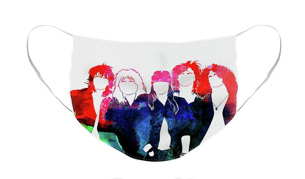 Music Rock Guns N Roses Face Masks
