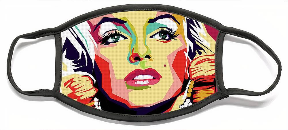 Marilyn Face Masks