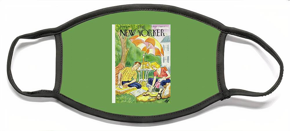 New Yorker July 12th 1947 Face Mask