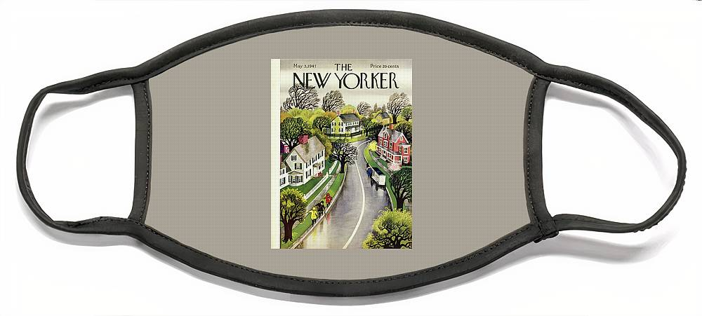 New Yorker May 3, 1947 Face Mask