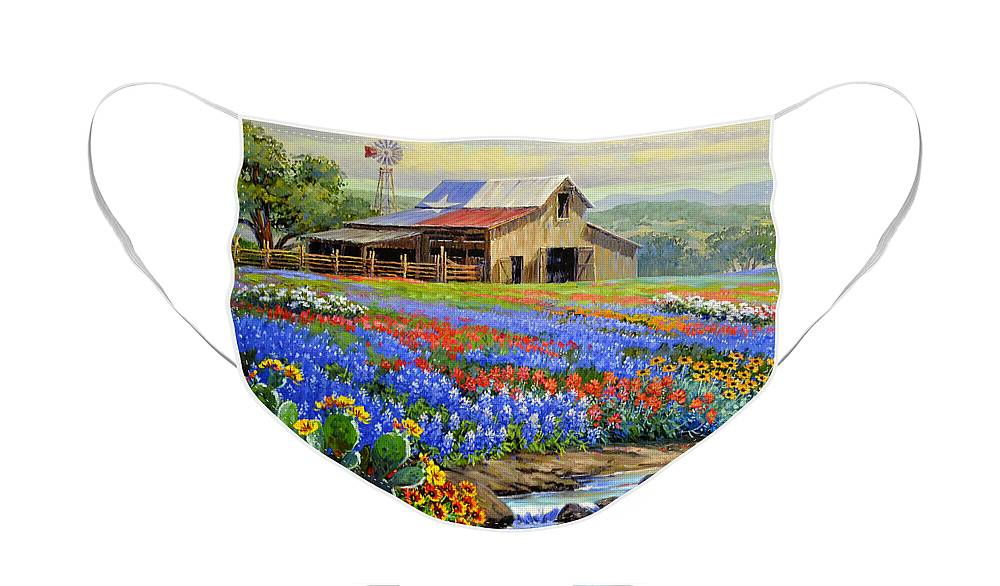 Wildflowers Face Masks