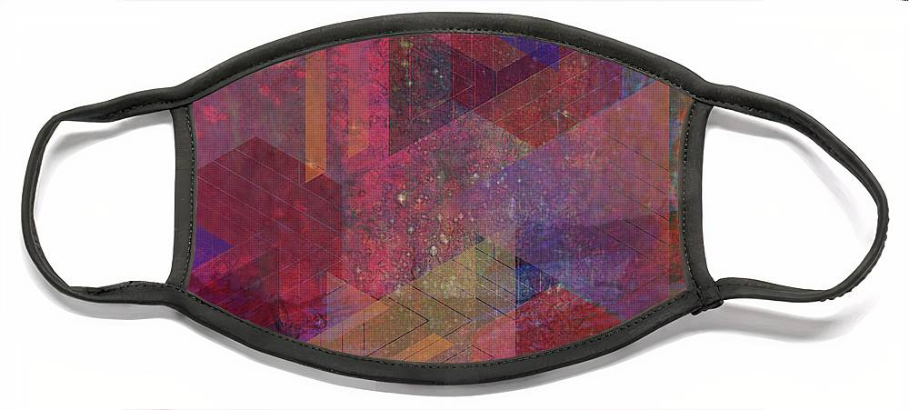 Another Place Face Mask featuring the digital art Another Place by John Robert Beck