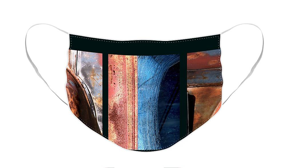 Abstract Face Mask featuring the photograph Ole Bill by Steve Karol
