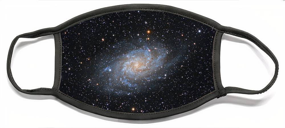 Galaxy Face Mask featuring the photograph Triangulum Galaxy by Prabhu Astrophotography