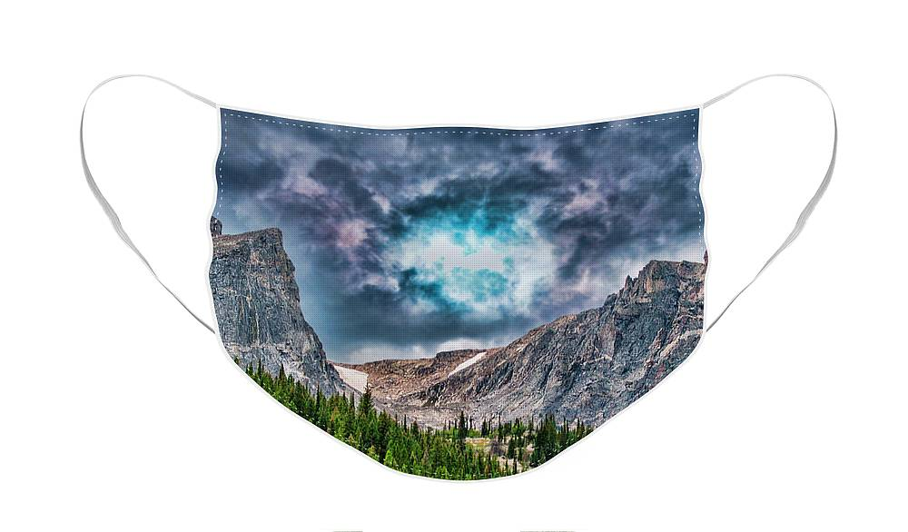 Colorado Face Mask featuring the photograph Two Billion Years In The Making by Mike Braun