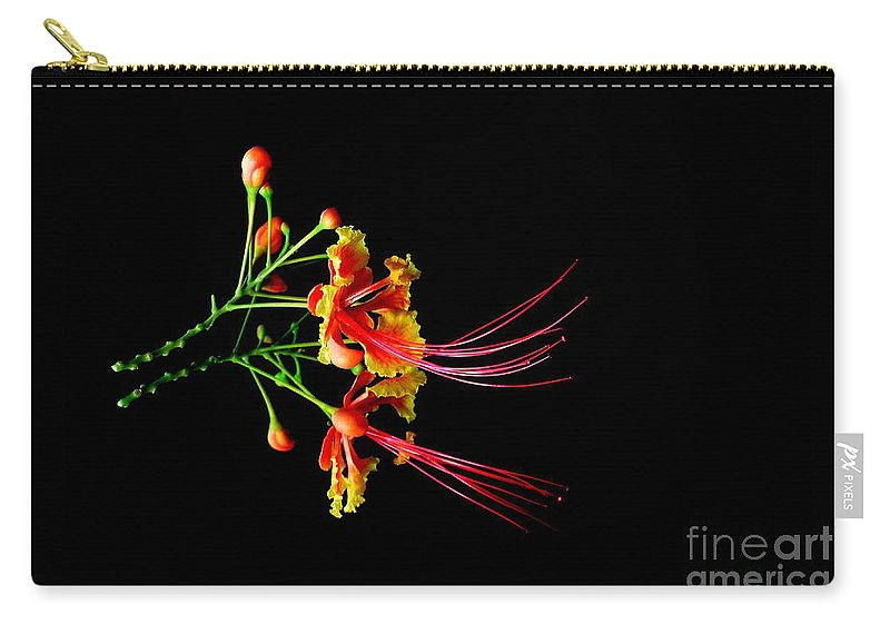 Nature Carry-all Pouch featuring the photograph Delicacy by Michelle Meenawong