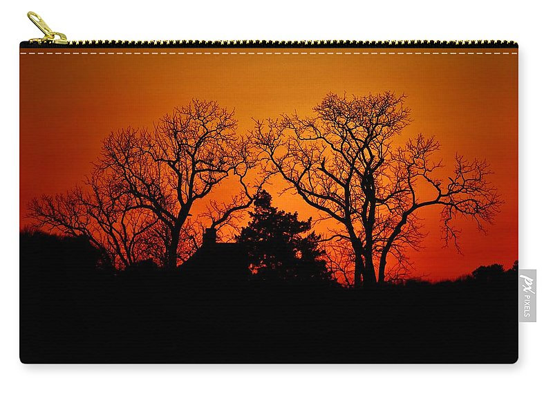 Beach Bum Pics Carry-all Pouch featuring the photograph Fractal by William Bartholomew