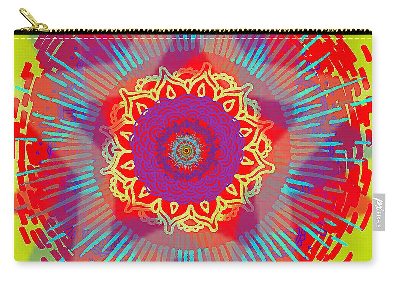 Abstract Carry-all Pouch featuring the photograph My Chaos Theory by Stelios Kleanthous