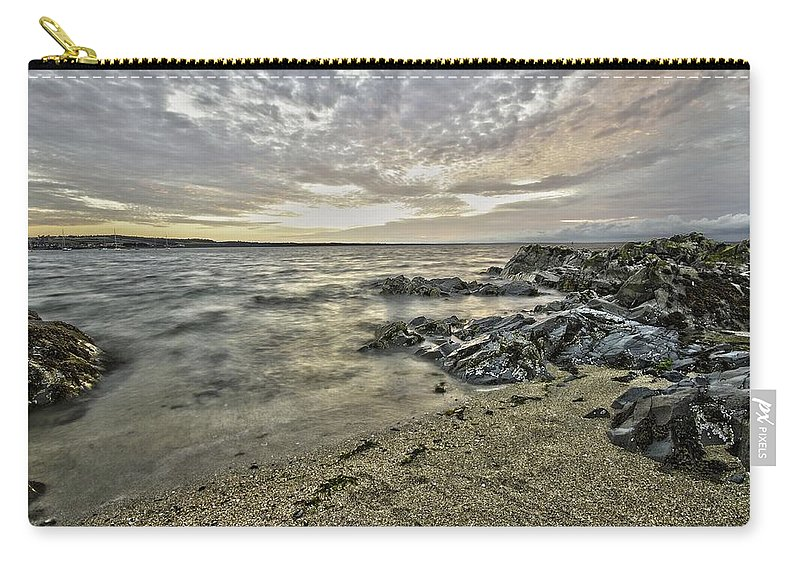 Sky Carry-all Pouch featuring the photograph Skerries Ocean View by Martina Fagan