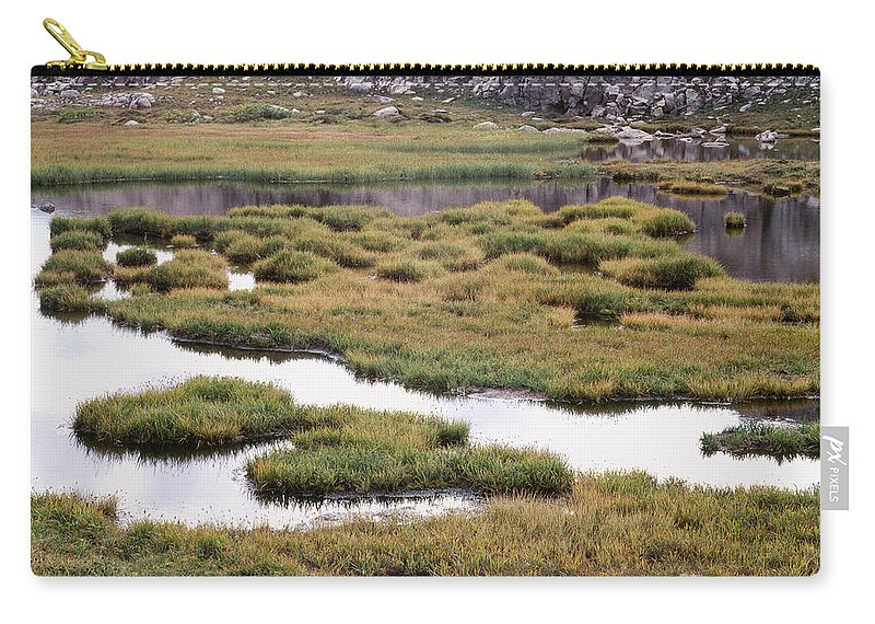 Rocky Mountains Carry-all Pouch featuring the photograph Titcomb Basin Marsh by Tracy Knauer