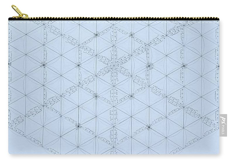 Energy Carry-all Pouch featuring the drawing Why Energy Equals Mass Times the Speed of Light Squared by Jason Padgett