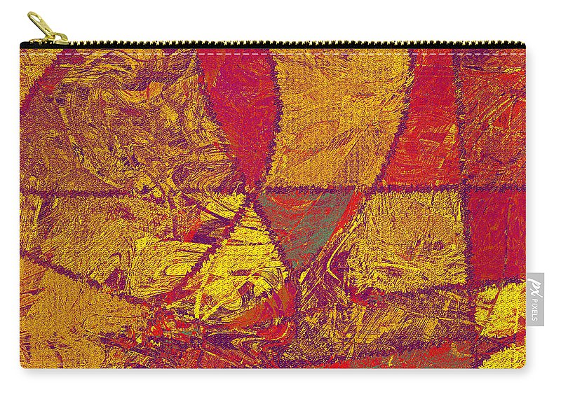 Abstract Carry-all Pouch featuring the digital art 0119 Abstract Thought by Chowdary V Arikatla