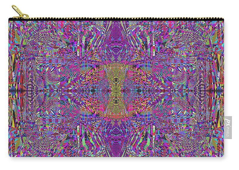 Abstract Carry-all Pouch featuring the digital art 0320 Abstract Thoyght by Chowdary V Arikatla