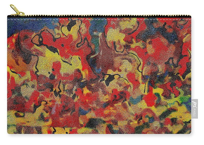 Abstract Carry-all Pouch featuring the digital art 0808 Abstract Thought by Chowdary V Arikatla
