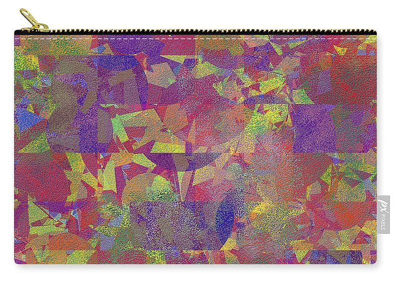 Abstract Carry-all Pouch featuring the digital art 0866 Abstract Thought by Chowdary V Arikatla