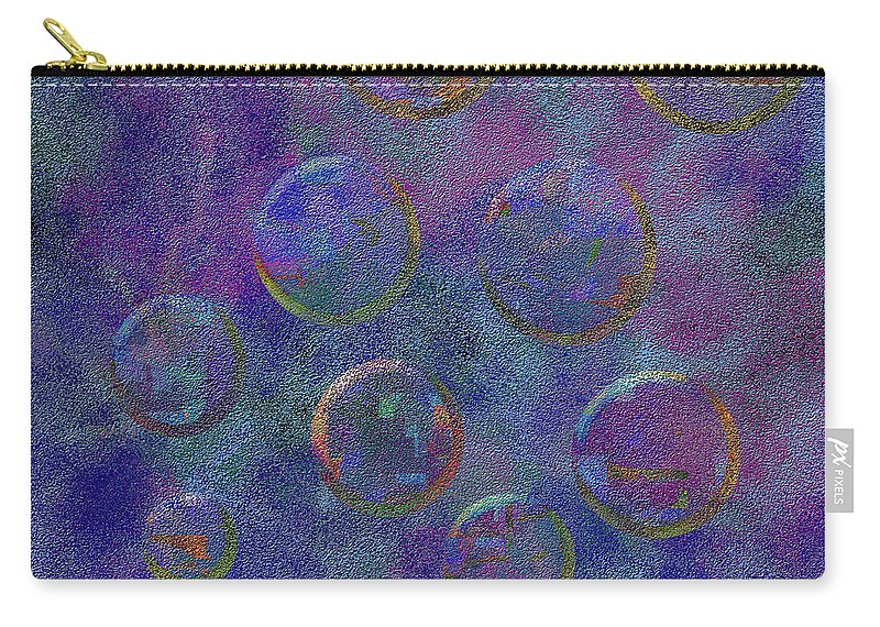 Abstract Carry-all Pouch featuring the digital art 0877 Abstract Thought by Chowdary V Arikatla