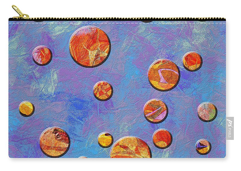 Abstract Carry-all Pouch featuring the digital art 0888 Abstract Thought by Chowdary V Arikatla