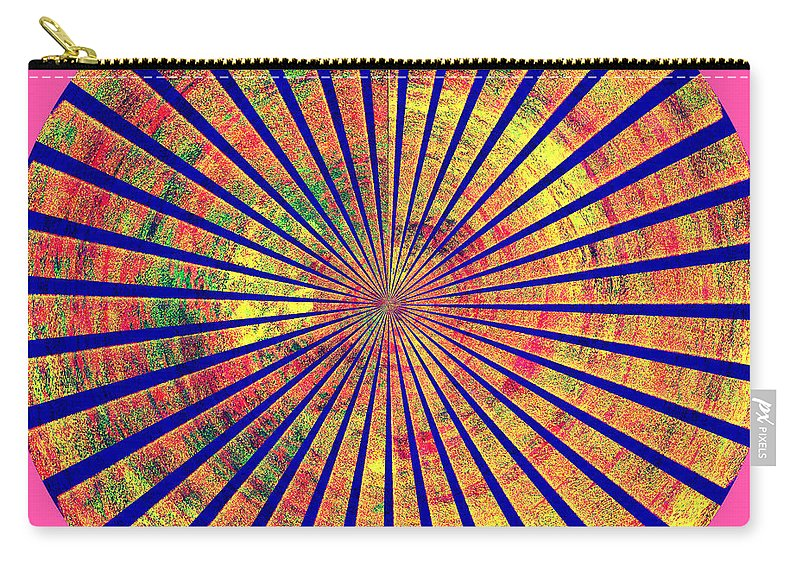Abstract Art Of Good Color Carry-all Pouch featuring the digital art 0966 Abstract Thought by Chowdary V Arikatla