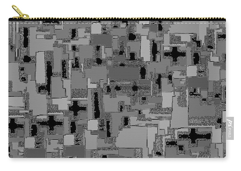 Abstract Carry-all Pouch featuring the digital art 0992 Abstract Thought by Chowdary V Arikatla