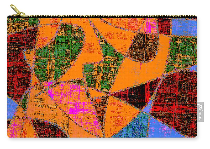 Abstract Carry-all Pouch featuring the digital art 0267 Abstract Thought by Chowdary V Arikatla