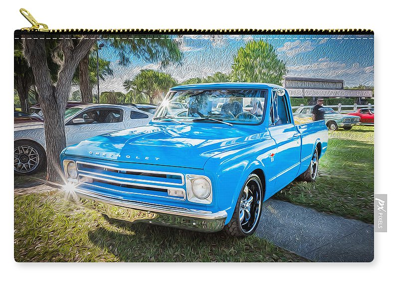 1967 Chevy Silverado Pick Up Truck Painted Carry All Pouch